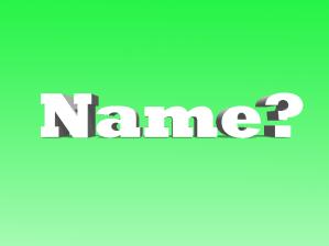Name-Week 6